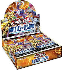 Battles Of Legend Light S Revenge Yugioh Trading Card Game Battles Of Legend Lights Revenge Booster Box 24 Packs