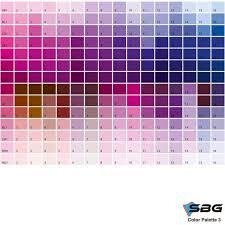 Dtg 017 Color Chart 3 Sbg