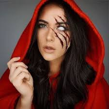 little red riding hood costume diy beautiful 30 mind blowing makeup ideas to scare of
