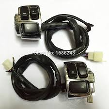 compare prices on wiring harness motorcycle online shopping buy pair motorcycle 1 handlebar control switches chrome wiring harness for harley softail dyna sportster