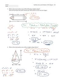 surface area and volume of 3d shapes 02 answers 4 01_orig blog archives mr auger's grade 9 enriched math on volume of 3d shapes worksheet pdf