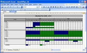 Monthly Planner Excel Officehelp Template 00030 Calendar Plan Month Planner Template