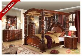 high end traditional bedroom furniture. Traditional Four Poster Bedroom Sets | Details About Castillo De Cullera Cherry Queen Size Canopy High End Furniture