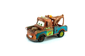 john tow mater d by comedian larry the cable guy whitney is lightning mcqueen s best friend a tow truck who s seen quite a bit of mileage