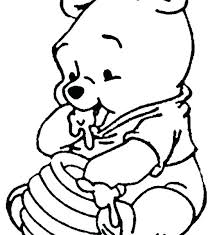 baby disney characters coloring pages