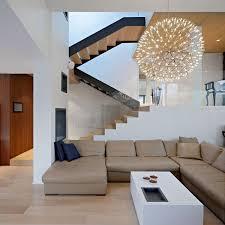 pendant lighting for living room. White Stain Wall FeaturingLighting. Living Room Pendant Lighting For A