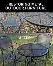 Best 25 Painted Patio Furniture Ideas On Pinterest  Painted Metal Outdoor Patio Furniture Sets