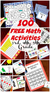 Math Is Fun Multiplication Chart 50 Awesome And Fun Math Activities For 3rd 4th And 5th