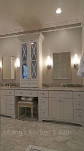 At The Center Of This Bathroomdesign Is The Luxurious Open Shower With A Bench Seat Showe Master Bathroom Renovation Master Bathroom Design Bathrooms Remodel
