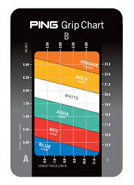 Ping Golf Grip Chart Ping Golf Club Online Charts Collection