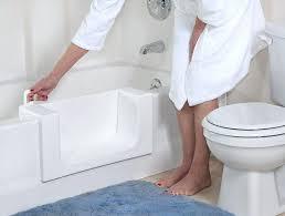 safety step fresh finishes bathtub with door sterling bathtub door installation