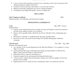 Resume Sample For Junior Sous Chef Pastry Partie Cv Demi Executive ...