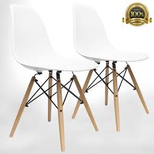 modern chair plastic. Mid Century Modern Style Chairs By UrbanMod (Set Of 4).\u0027Easy Assemble Chair Plastic