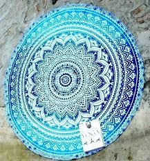 luxury round beach rugs and round beach rug round beach rugs hippie peacock mandala round towel