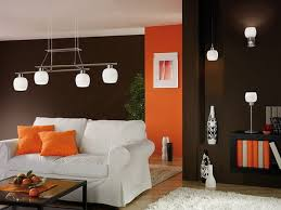 decorations winsome right colors of living room with brown red