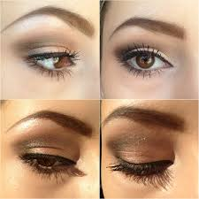 natural eye makeup for brown