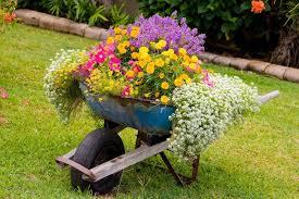 Unusual Flower Container Ideas  10 Container Garden Ideas That Container Garden Ideas Photos