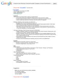 Resume For An Interview Business Insider