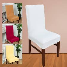 chair covers dining spandex strech dining room chair covers office chair protector slipcover decor chair cover