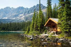 Small Picture Lake Ohara Lodge Cabins British Columbia Canada