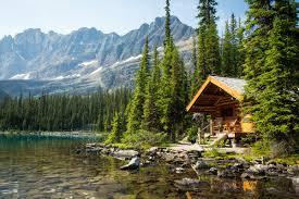 Small Picture Lake Ohara Lodge Cabins British Columbia Canada