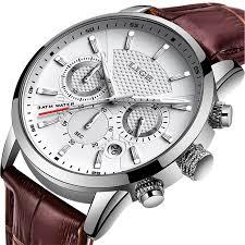 <b>LIGE 2019 New</b> Watch Men Fashion Sport Quartz Clock Mens ...