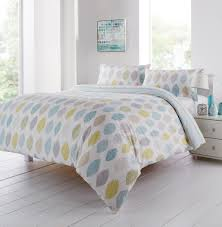 azuki duck egg cotton rich duvet set expand