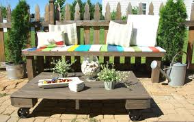 pallet furniture garden. Pallet Furniture Garden