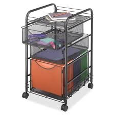 office rolling cart. Black Metal Steel Mesh Mobile Filing Cabinet Cart With 2 Drawers And Wheels Office Rolling M