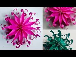 Easy Paper Origami Flower Top Origami Flower Easy Paper Flower Tutorial Diy How To