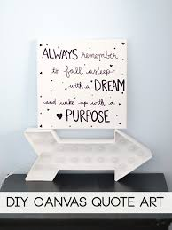 Wall Art Quotes Stunning Innovative Ideas Canvas Wall Art Quotes Diy Quote Laura Rahel