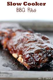 slow cooker bbq ribs no 2 pencil