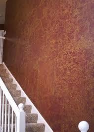 Decorative Faux Painting Techniques. Faux leather/Frottage.