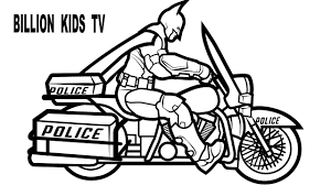 Spiderman motorcycle coloring pages printable of prepossessing