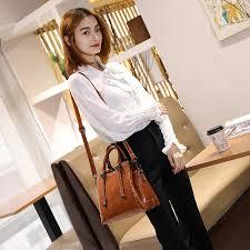 Genuine leather women <b>handbag fashion handbags Crossbody</b> ...