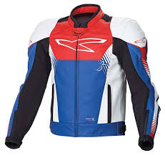 macna giga leather jackets red blue white men s clothing macna adventure jacket official website