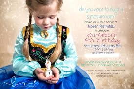 make your own frozen invitations frozen invitations ideas and snowman party invites for a frozen