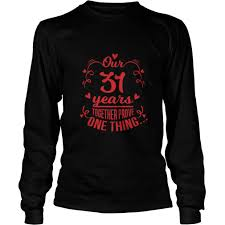 best clothes for couple 31st wedding anniversary gift gift ideas por