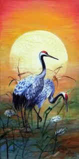Japanese <b>cranes</b> by CheetahArt   Bird art, Japanese painting, Asian ...