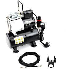 mini air compressor 220v model car robot spray painting pump silent compressor high pressure air compressor with one air tank in teaching resources from
