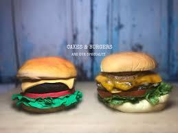 Burger Cake Design Cake Burger