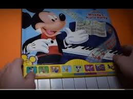 mickey mouse clubhouse mickey s piano party play a song sound book playhouse disney junior sing song you