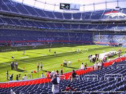 Denver Invesco Field Seating Chart Denver Broncos Seating Tehnostroy Info