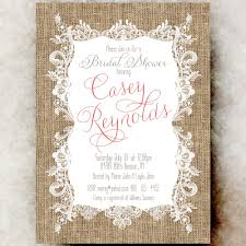 Burlap And Lace Wedding Invitations Burlap And Lace Wedding Invitations Throughout Ucwords Modern Ideas