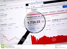 Amazon Amzn Ticker With Shares Price And Charts Editorial