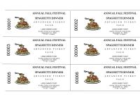 Spaghetti Dinner Advanced Sale Tickets Pto Today