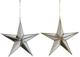 creative co op mirror star ornament