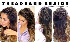 Headband Hair Style seven cutest headband braids to try in 2015 hair tutorial 4417 by wearticles.com