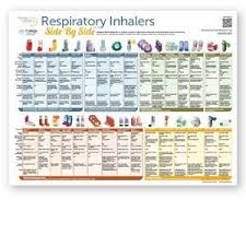 Respiratory Inhalers At A Glance English Version 11 X 8