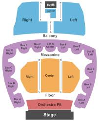 Five Flags Center Seating Chart Five Flags Center Theatre Tickets Five Flags Center